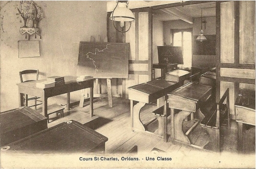 Cours St Charles Orleans une classe